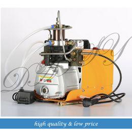 High Pressure Air Compressors Canada - 0-40mpa High Pressure Air Pump water cooling Electric mini Inflator PCP Air Compressor 220V