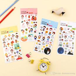 $enCountryForm.capitalKeyWord NZ - 1 pcs New photo album Scrapbook decoration Cute cartoon stamp stickers DIY Handmade Gift Card Scrapbooking Free shipping