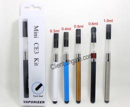 Vapor kit packaging online shopping - Mini CE3 Kit O pen BUD Touch Blister Packaging Touch Pen mAh Battery Vapor Kit for Wax Oil Cartridge Vaporizer DHL
