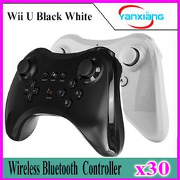 online shopping 30pcs For Nintendo wiiu Wii for U Gamepad Pro Dual Analog Wireless Gamepad Game Controller Remote USB Bluetooth Remote Controller YX Wuii