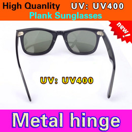Glasses Sun Protection Australia - New UV400 protection Sun glasses High Quality Plank black Sunglasses glass Lens black Sun glasses beach sunglasses UV protection sunglasses