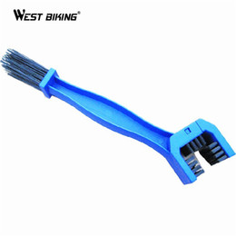 bicycling gear UK - WEST BIKING Cycling Bicycle Chain Clean Brush Gear Free Wheel Brush Cleaner Outdoor Motorcycle Cleaner Bicycle Chain Clean Tools