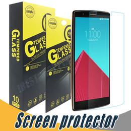 Lg Leon Tempered Glass Protector Australia - Tempered Glass Screen Protector Explosion Shatter 9H 2.5D For LG Aristo V3 Stylo 3 D690 F70 L34C Leon C40 Aka Joy Spirit Magna
