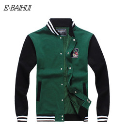 Wholesale men swag suits online – oversize E BAIHUI brand mens hoodies and sweatshirts Moleton Masculino Cotton jacket hoodies Suit Men Sweatshirts Tracksuit Swag WY004