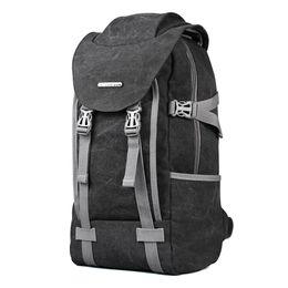 2017 холст рюкзак мужчины путешествия школьный 14,1-дюймовый ноутбук ноутбук рюкзак ноутбук большой емкости компьютер сумка школьная сумка на Распродаже