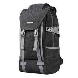 2017 Leinwand Rucksack Männer Reise Schultasche 14,1 Zoll Laptop Notebook Backpack Laptop Große Kapazität Computer Tasche schultasche