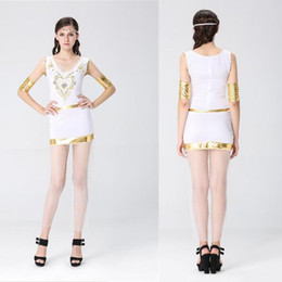 cb2f15736d7f Halloween Greek goddess role-playing ancient Egyptian queen cleopatra  costumes Club theme party stage role-playing stage performance