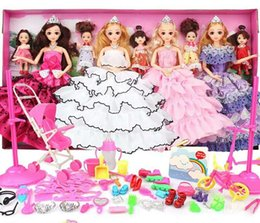 Big Dress Up NZ - Girls DIY Dress Up Toy Fashionista Ultimate Princess Doll and Fashions Clothes Dress Up Gift Box Set