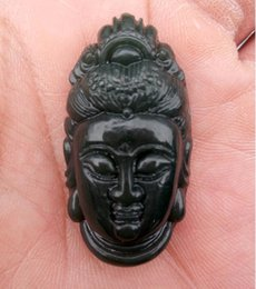$enCountryForm.capitalKeyWord Canada - Natural xinjiang hetian Jade Jade Carved Buddha checking GuanYin when crash-tested Pendants C31A1