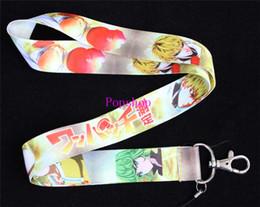 $enCountryForm.capitalKeyWord Canada - Free Shipping 100pcs ONE PUNCH-MAN Neck Anime lanyard for keys id badge holders Espada mobile keychain straps