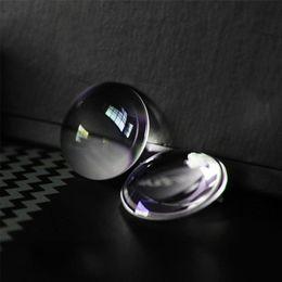 All'ingrosso- Fai da te BiConvex Lens per Google Cartone 3D Occhiali VR vetro ottico Google Cardboard 20pcs / lot 25 * 45MM in Offerta