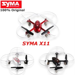 $enCountryForm.capitalKeyWord Australia - HOT Syma X11 4CH 2.4GHz Mini Quadcopter without Camera HD Micro Drone Pocket Quadrocopter Aircraft RC Helicopter Kids Toys Dron