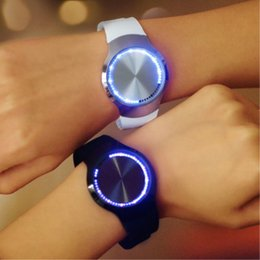 new watch touch screen 2019 - All Kinds of Design World Popular LED Touch Screen Digital Wristwatch Wrist Watches For Fashion Boy and Girl Best Gifts