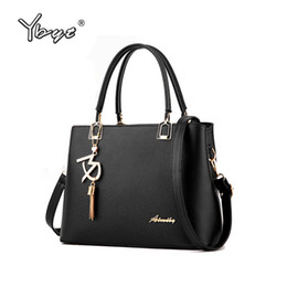 Ladies Briefcase Handbags Australia - Wholesale- YBYT brand 2017 new high quality simple women office handbags hotsale ladies briefcase bags shoulder messenger crossbody bags
