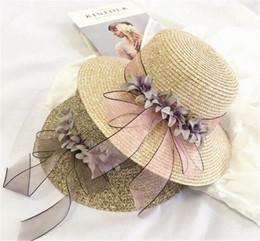 $enCountryForm.capitalKeyWord Canada - 2017 New Summer Floral Straw Hats Fedora Hat Visor Beach Sun Girls Sunhat Wide Brim Floppy Panama For Girl
