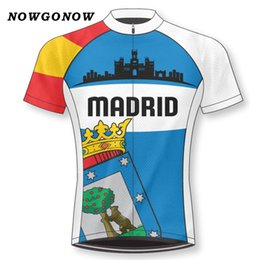 Customized NEW Hot 2017 Retro Spain City Cartoon mtb road RACE Team Bike  Pro Cycling Jersey Shirts   Tops Clothing Breathing Air JIASHUO af1f95808