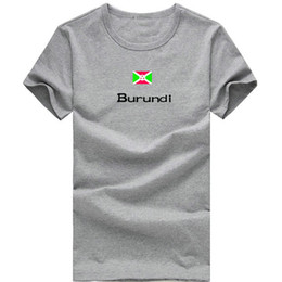 $enCountryForm.capitalKeyWord Canada - Burundi T shirt Hot sale sport short sleeve Solid rock tees Nation flag clothing Unisex cotton Tshirt