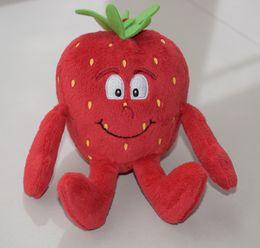 $enCountryForm.capitalKeyWord Australia - Wholesale 10-15cm fruits plush toy doll cherry, peas. Mushroom plush fruits vegetables toys stuffed fruta soft toys