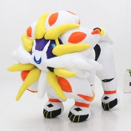 Wholesale video games series for sale – custom 30cm Anime Movie Pikachu Series Solgaleo Plush Toy Solgaleo Cosmoem Stuffed Doll for Children christmas gift