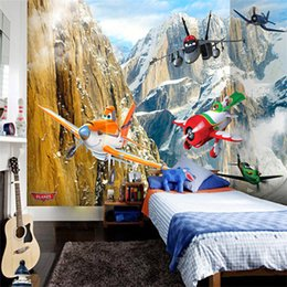 Vintage Classic Cars Canada - 3D Photo Wallpaper High-end Custom Wall Mural Non-woven Wall Paper Cartoon Toy Cars Toy Plane Living Room Wall Mural Wallpaper