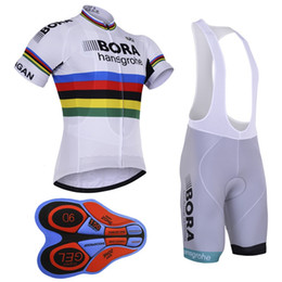 2017 Pro Team BORA cycling Jersey Summer Ropa Ciclismo Sport MTB Bike  Maillot Bicycle Wear BIB Shorts 9D GEL PAD Cycling Clothing D2001 e5e92fbd5
