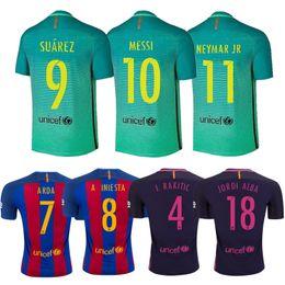 big sale 95fc9 88524 inexpensive barcelona 9 luis suarez away youth kids child ...