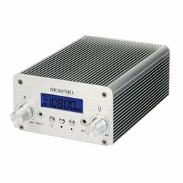 Transmitter Pack NZ - Wholesale-5W 15W PLL FM Transmitter Mini Radio Stereo Station Bluetooth Wireless Broadcast only Host for FM Radio Y4351