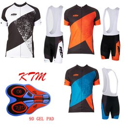 $enCountryForm.capitalKeyWord NZ - 2017 KTM Men Cycling Jersey Mtb Cycling Clothing Bicycle Short Sleeve shirt bib pants 9D gel pad set ropa Ciclismo Bike Clothes E1201