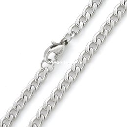 "12mm figaro chain UK - Width 3mm 4mm 5mm 6mm 7mm 8mm 9mm 10mm 11mm 12mm 316L Stainless Steel Mens NK Cool Curb Link Chain Necklace(18""-22"" inches)"