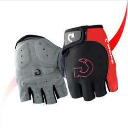 Glove cyclinG Gel online shopping - Cycling Gloves Men Sports Riding Half Finger Anti Slip Gel Glove Mountain Bike Summer Breathable Road Car Mitts Top Quality ts F