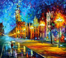 China Fine Art Print Reproduction High Quality Giclee Print on Canvas Home Decor Landscape Painting DH082 suppliers