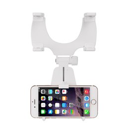 $enCountryForm.capitalKeyWord Canada - Universal 360 Degrees Car Phone Holder Car Rearview Mirror Mount Holder Stand Cradle For iPhone For Samsung Mobile Phone GPS