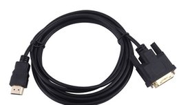 Wholesale Hdmi Dvi Canada - Wholesale 500pcs lot 3FEET 1m HDMI to DVI Cable (Gold Plated)