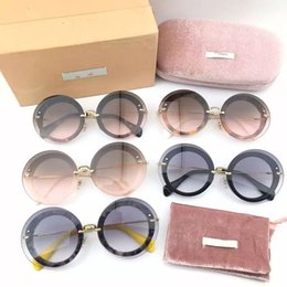88bdde3c8011 2017 single round sunglasses retro fashion lady trends in Europe and America  high quality variety of optional color Sunglasses
