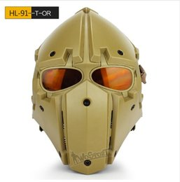 $enCountryForm.capitalKeyWord NZ - WOSPORT Hot New Tactical OBSIDIAN GREEN GOBL TERMINATOR Helmet & Mask goggle for Hunting Paintball Cosplay Movie Prop More than one color