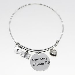 White Silver Bracelet Australia - One day more close to a number of classic fine ornaments round silver white adjustable heart-shaped gifts jewelry bracelet YP3173