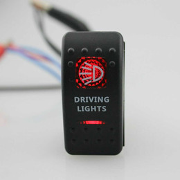 $enCountryForm.capitalKeyWord Australia - Guaranteed 100% IZTOSS Driving Lights 12V SPST Rocker Switch Car Van Dash Boat Marine LED ON-OFF illuminated Free Shipping