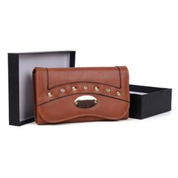 $enCountryForm.capitalKeyWord NZ - Mini Rivet Lady Clutch Bag Wallets Holders Gift Box Women Prppy Style Hasp Fashion Credit Card Package VKP1495