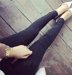73c0360bee1b6 New Washed Women Imitation Jeans Mujer Stretch Cotton Denim Pants Trousers  Boyfriend Plus Size Skinny Jeans Pencil Pants