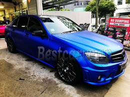 graphics for cars 2019 - High Quality Chrome Satin Blue Vinyl Car Wrap Film with air bubble Free For LUXURY Vehicle Graphics Covering foil 1.52x2