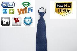 Беспроводной WIFI изношенные тела пинхол камеры HD 1080P мини-шеи галстук камеры видео USB DVR записи галстук мини-камеры