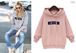 Discount Long Grey Pink Sweatshirt   2017 Long Grey Pink ...