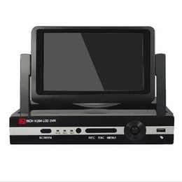 Dvr NZ - 7inch LCD H.264 8 Channel All in One AHD DVR Recorder H.264 CCTV Security Surveillance System Digital Video Recorder