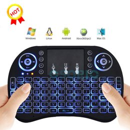 $enCountryForm.capitalKeyWord NZ - Mini i8 Wireless Keyboard New Fly Air Mouse 2.4G With Back light Red Green Blue Remote controller for TV box pc computer