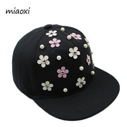 boys hip hop baseball cap 2018 - Wholesale- miaoxi New Fashion Boys  Baseball Caps Hip 6ffeb7ba4f7f