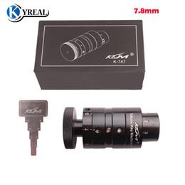 Locksmith tubuLar cutter online shopping - New Klom Car Tubular Key Cutter Machine mm Key Cutting Machine Key Copy Tool Locksmith Tools for Auto Tool
