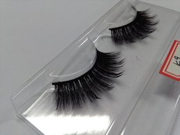 $enCountryForm.capitalKeyWord NZ - 12 Pairs Handmade Silk 3D Fake False Eyelashes for Lashes Makeup Beauty Hot Popular Sale 3D Eye Lashes Black