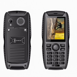 Original Ken Xin Da Proofings W3 teléfono móvil IP68 a prueba de agua a prueba de golpes Smartphone 2G Dual SIM 2000mAh batería teléfono móvil Cheapst teléfono