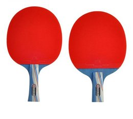 Table Tennis rackeT brand online shopping - Brand Top Quality Stars Facilities Equipment Red Table Tennis Racket Pingpong Racket
