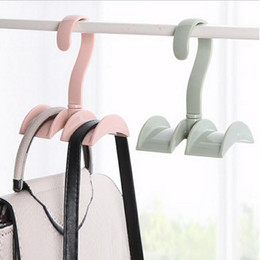 Handbag Purse Bags Holder Hook Hanger Hanging Rack Storage Organizer For  Wardrobe Closet   Ties,Cap,Belts Hanger